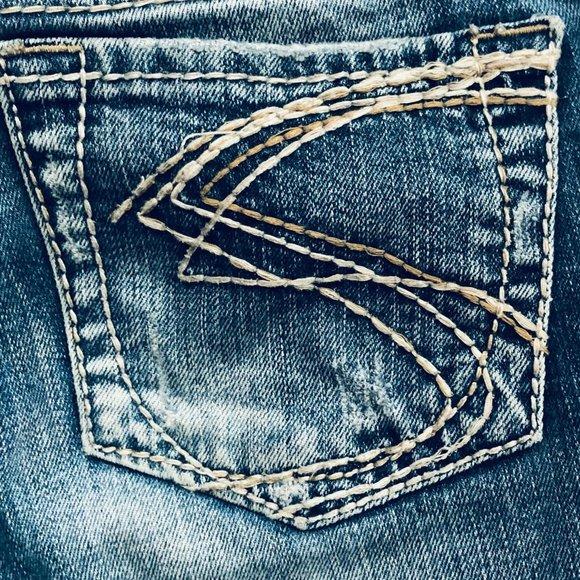 Silver Jeans Denim - Silver Aiko Misses Boot Cut Jeans Size 27
